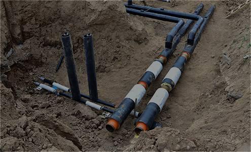 Site utilities: Wet/Dry